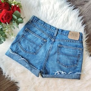 RALPH LAUREN VINTAGE HIGHWAISTED DENIM SHORTS